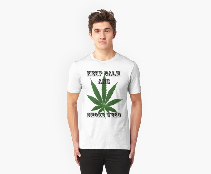 Keep calm and smoke weed by Rosarioandamot