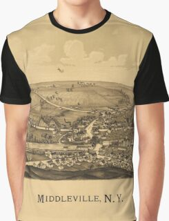 Middleville New York (1890) Graphic T-Shirt
