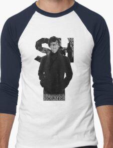 SherlockHolmes 0009 Men's Baseball ¾ T-Shirt