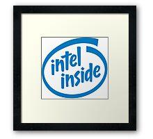 Intel Inside Framed Print