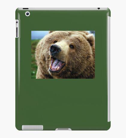 Happy Grizzly iPad Case/Skin