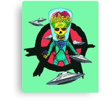 The Martian Misfit Canvas Print