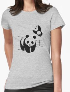 WWF takedown Womens Fitted T-Shirt