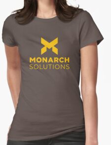Monarch Solutions - Quantum Break Womens Fitted T-Shirt