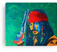 Pirat Canvas Print