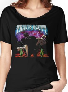 TRAVIS SCOTT - RODEO TOUR [4K] Women's Relaxed Fit T-Shirt