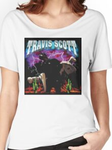 TRAVIS SCOTT - RODEO TOUR [4K] Women's Relaxed Fit T-Shirt