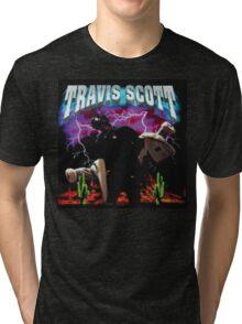 TRAVIS SCOTT - RODEO TOUR [4K] Tri-blend T-Shirt