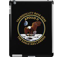 Apollo 11 Insignia iPad Case/Skin