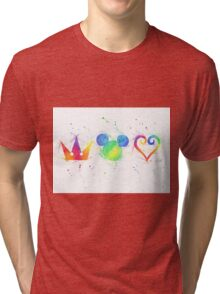 """""""The Heart, the King and the Crown"""" Tri-blend T-Shirt"""