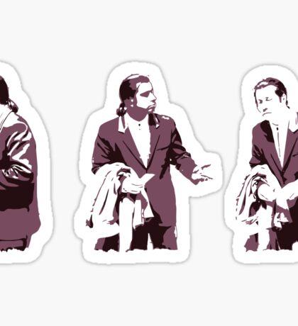 Vincent Vega Confused Sticker