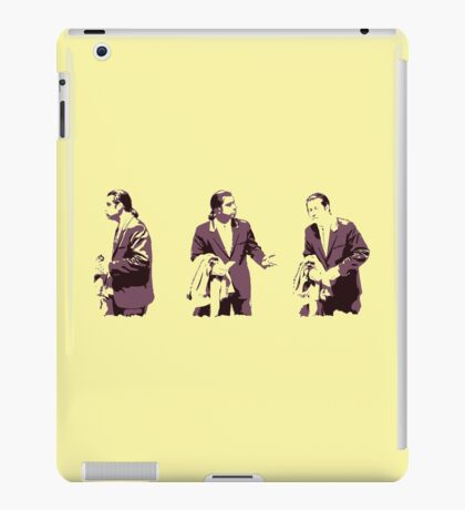 Vincent Vega Confused iPad Case/Skin