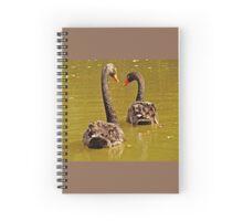 Black Swans Spiral Notebook