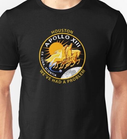 Nasa's Apollo 13 Insignia. Unisex T-Shirt