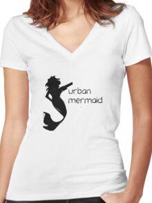 Urban Mermaid Women's Fitted V-Neck T-Shirt