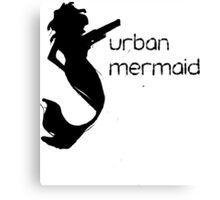 Urban Mermaid Canvas Print