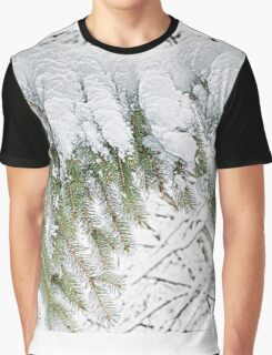 Snowy Pine - HDR Graphic T-Shirt