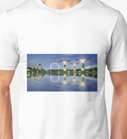 Singapore Landmarks Unisex T-Shirt