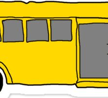 School Bus [Badly Drawn] Sticker