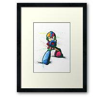 """Mega Shooter"" Framed Print"