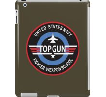 United States Navy Fighter Weapons School Top Gun Insignia iPad Case/Skin