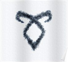Rune - Shadowhunters - Canvas Poster
