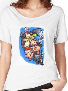 3 Little Pigs Women's Relaxed Fit T-Shirt
