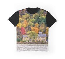 Autumn by the Lake Graphic T-Shirt