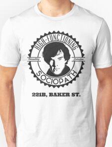 Sherlock Holmes Sociopath T-Shirt