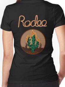 TRAVIS SCOTT - RODEO [4K]  Women's Fitted V-Neck T-Shirt