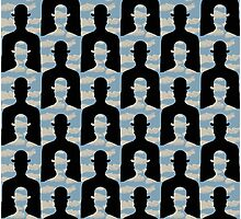 """after Rene Magritte pattern """"Decalcomania"""" Photographic Print"""