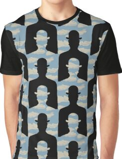 "after Rene Magritte pattern ""Decalcomania"" Graphic T-Shirt"