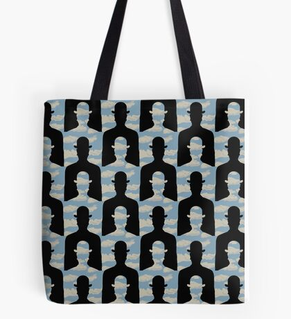 """after Rene Magritte pattern """"Decalcomania"""" Tote Bag"""