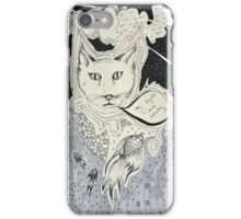 Kitty problems iPhone Case/Skin