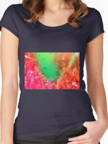 Nature macro Women's Fitted Scoop T-Shirt