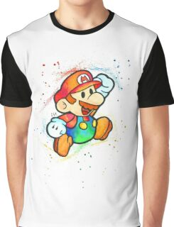 """Paper Plumber"" Graphic T-Shirt"