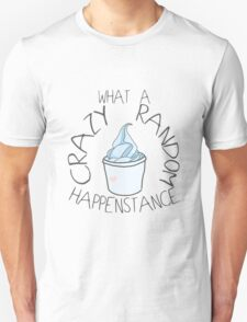 """Crazy Random Happenstance"" Dr Horrible Unisex T-Shirt"