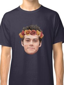 Dylan O'Brian Flower Crown Classic T-Shirt