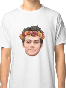 Dylan O'Brian Flower Crown Classic T-Shirt