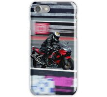 bikes on track iPhone Case/Skin