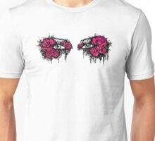 If I could hide your eyes behind the roses - red version Unisex T-Shirt