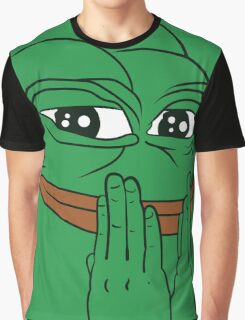 "Pepe The Frog ""FEEL GOOD"" Graphic T-Shirt"