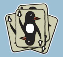 Shuffling Penguins [Small] Baby Tee