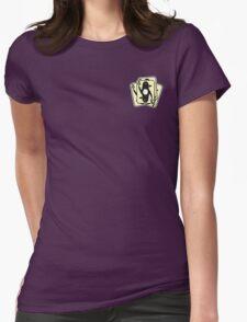 Shuffling Penguins [Small] Womens Fitted T-Shirt