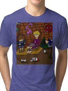 HOMELESS & UNWANTED  Tri-blend T-Shirt