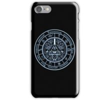 Bill Cipher Gravity Falls Symbols and Incantation  iPhone Case/Skin