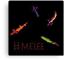 terraria's melee weapons Canvas Print