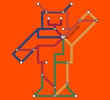 Somervile Robot Kids Tee