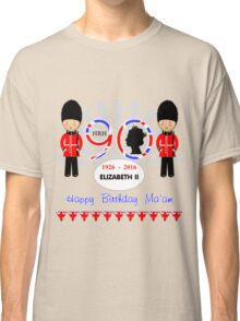 The Queens 90th Birthday Commemorative Design  Classic T-Shirt