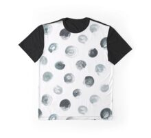 Dry Brush Polka Dot Graphic T-Shirt